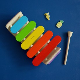 Xylophone ovale Multicolore Plan Toys