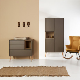Commode Cocoon - Moss Marron / Taupe Quax