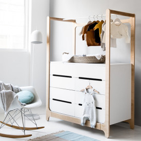 Commode H - Blanc Blanc RaFa Kids