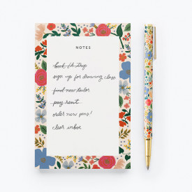 Stylo rechargeable - Wild Rose Multicolore Rifle Paper Co.