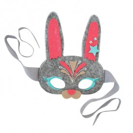 Kit crée ton masque de lapin  Multicolore Seedling