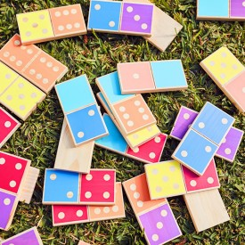 Dominos géants - Catalina Multicolore Sunnylife