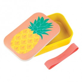 Eco Lunch Box - Ananas Multicolore Sunnylife
