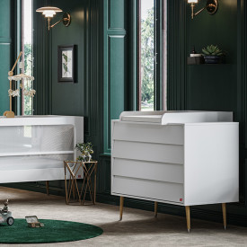 Commode Bosque - Blanc Blanc Vox