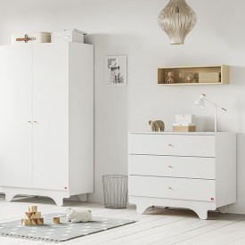Commode Playwood - Blanc Blanc Vox