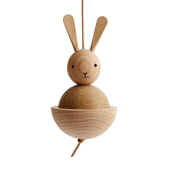 Hase aus Holz Natural OYOY