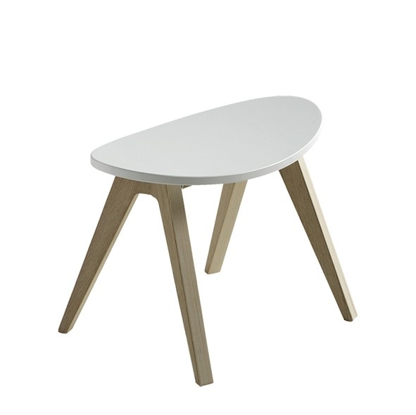PingPong Hocker Weiss Oliver Furniture