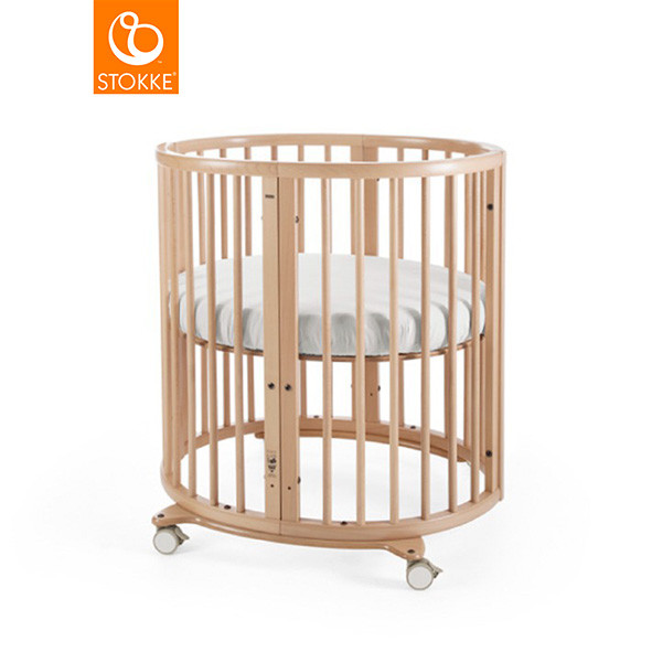 Wiege Sleepi Mini - Mit Matratze - Natur Natural Stokke®