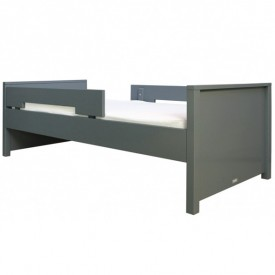 Bett Jonne 90 x 200 cm Mix & Match - Deep Grey