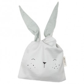 Lunchbag Hase Icy grey