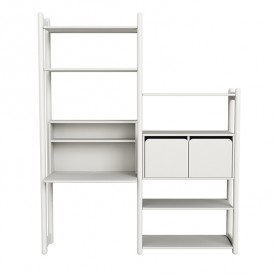 Regal Shelfie - Combi 5 - Weiss