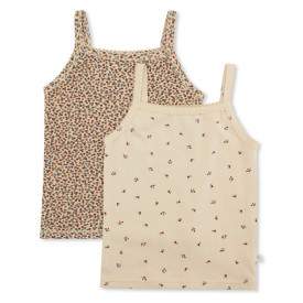 2er-Set Tanktops – Bloom / Rosaraie