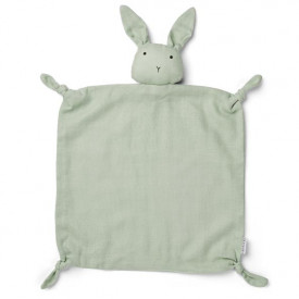 Schmusetuch Hase - Mint