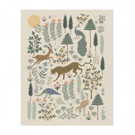 Poster 40 x 50 cm – Menagerie Forest