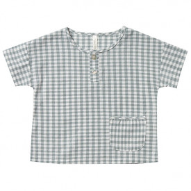 T-Shirt Henley - Gingham