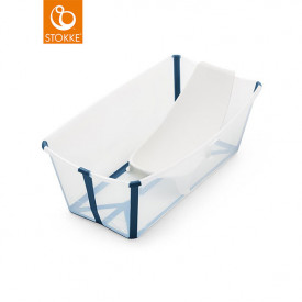Badewanne Flexi Bath - Transparent Blau