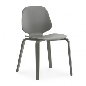 Stuhl My Chair - Esche - Grau