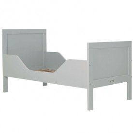 Kinderbett Romy 70 x 150 cm Mix & Match - Pure Grey Grau Bopita