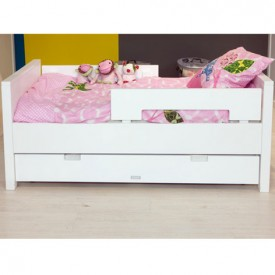 Kinderbett Jonne 70 x 150 cm Mix & Match - Weiss Weiss Bopita