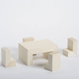 HOME 3D Puzzle Natural CinqPoints