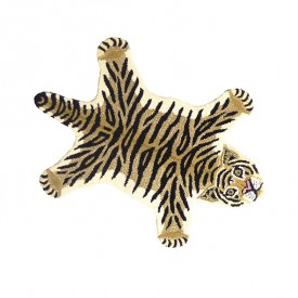 Teppich Tiger Drowsy - S - 100 x 60 cm Multi-Farbe Doing Goods