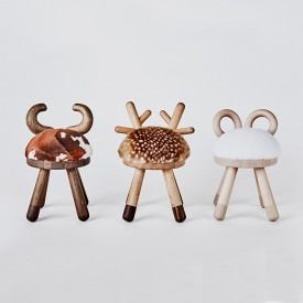 Hocker Bambi Natural EO
