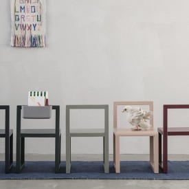 Little Architect Kinderstuhl - Grau Grau Ferm Living