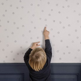 Tapete Igel Weiss Ferm Living Kids