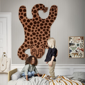 Teppich Safari - Leopard Orange Ferm Living Kids