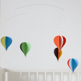 Heissluftballons Mobile Multi-Farbe Flensted
