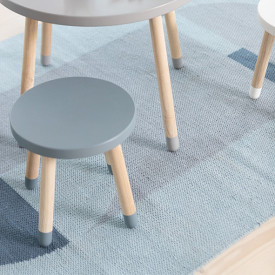 Kleiner Hocker PLAY - Hellblau Blau Flexa