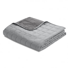 Steppdecke Room 230 x 130 - Mountain Grey Grau Flexa