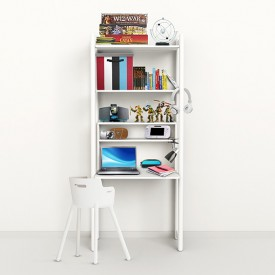 Regal Shelfie - Maxi D - Weiss Weiss Flexa