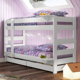 Trennbares Stockbett Dominique - 149 cm Multi-Farbe Mathy by Bols