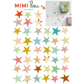 Just a touch - Sterne Multi-Farbe MIMI'lou