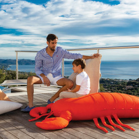 Pouf XL - Homard Orange MX Home