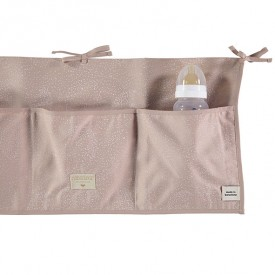 Betttasche Merlin - Bubble - Elements - Rosa/ Weiss Rosa Nobodinoz
