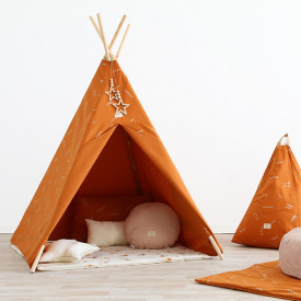 Tipi Phoenix Secrets - Elements - Rost / Gold Orange Nobodinoz