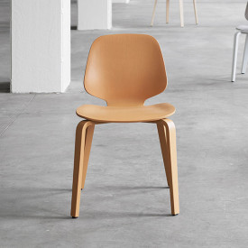 Stuhl My Chair - Esche - Kamel Orange Normann Copenhagen