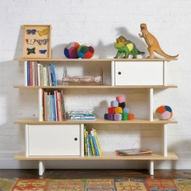 Mini-Bibliothek - Birke Natural Oeuf NYC