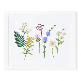 Poster 40 x 50 cm – Wildflowers Multi-Farbe Rifle Paper Co.