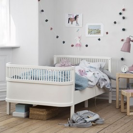 Bett Junior & Grow - Weiss Weiss Sebra