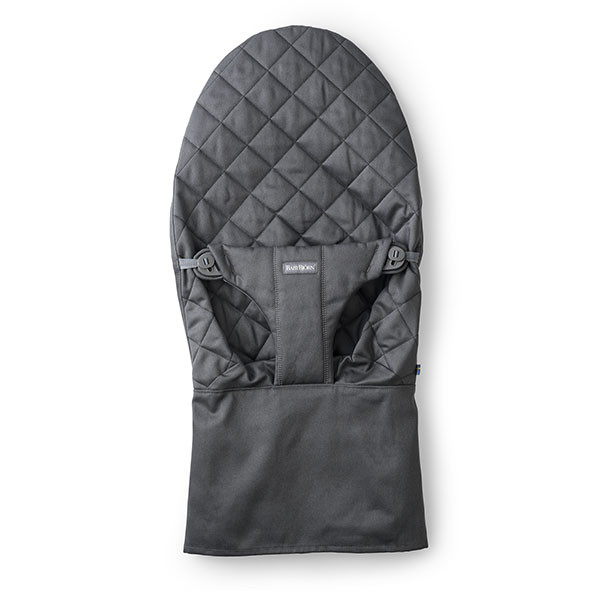 Cotton Cover for Bouncer Bliss - Anthracite Grey BabyBjörn