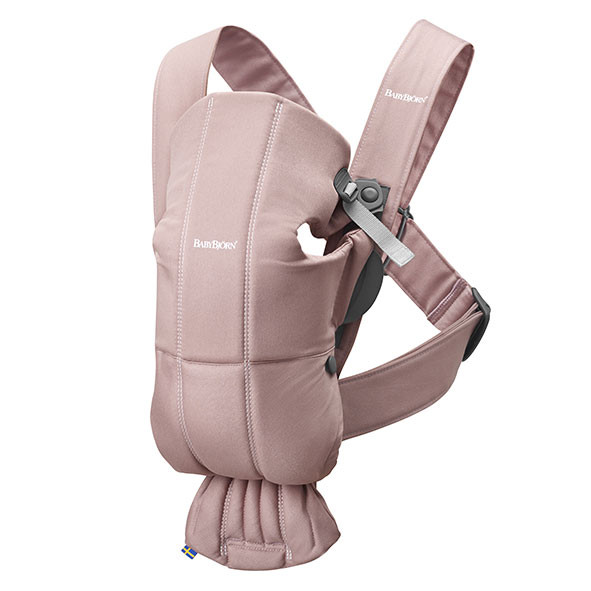 Baby Carrier Mini Cotton - Pink Pink BabyBjörn