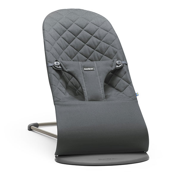 Bouncer Bliss Cotton - Anthracite Grey BabyBjörn