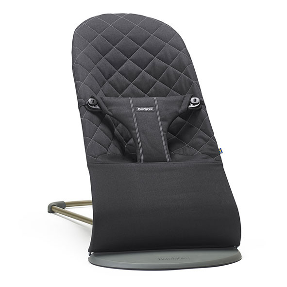 Bouncer Bliss Cotton - Black Black BabyBjörn
