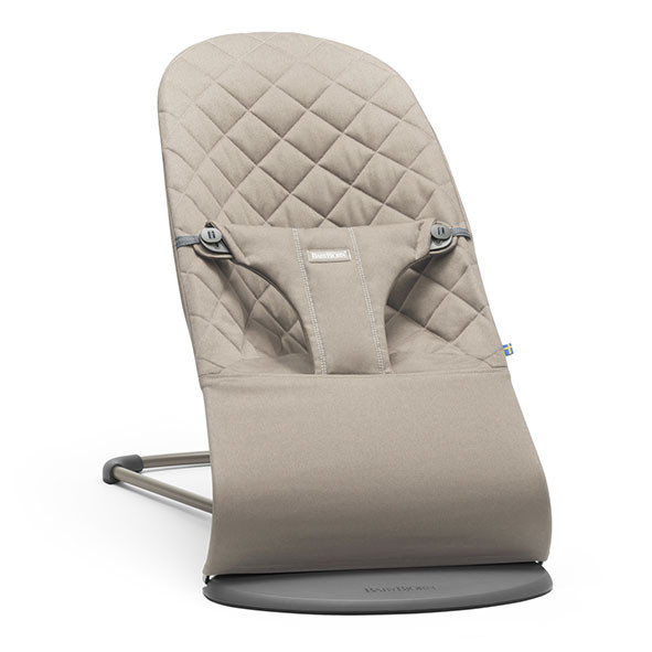 Bouncer Bliss Cotton - Sand Beige BabyBjörn