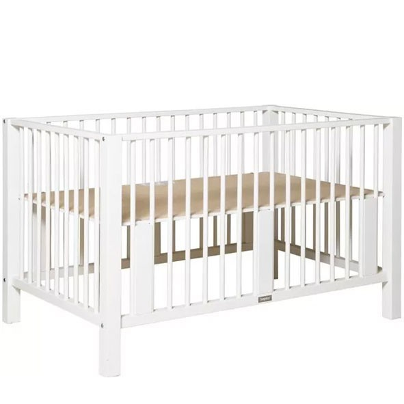 XL Playpen Brent Twin - White White Bopita