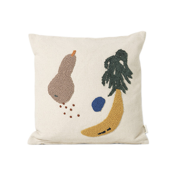 Fruiticana Banana Cushion Multicolour Ferm Living Kids