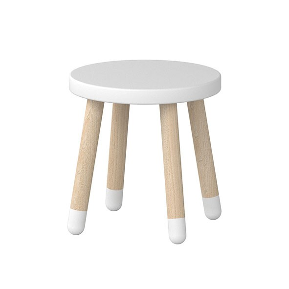 Play Small Stool White Flexa Mylittleroom